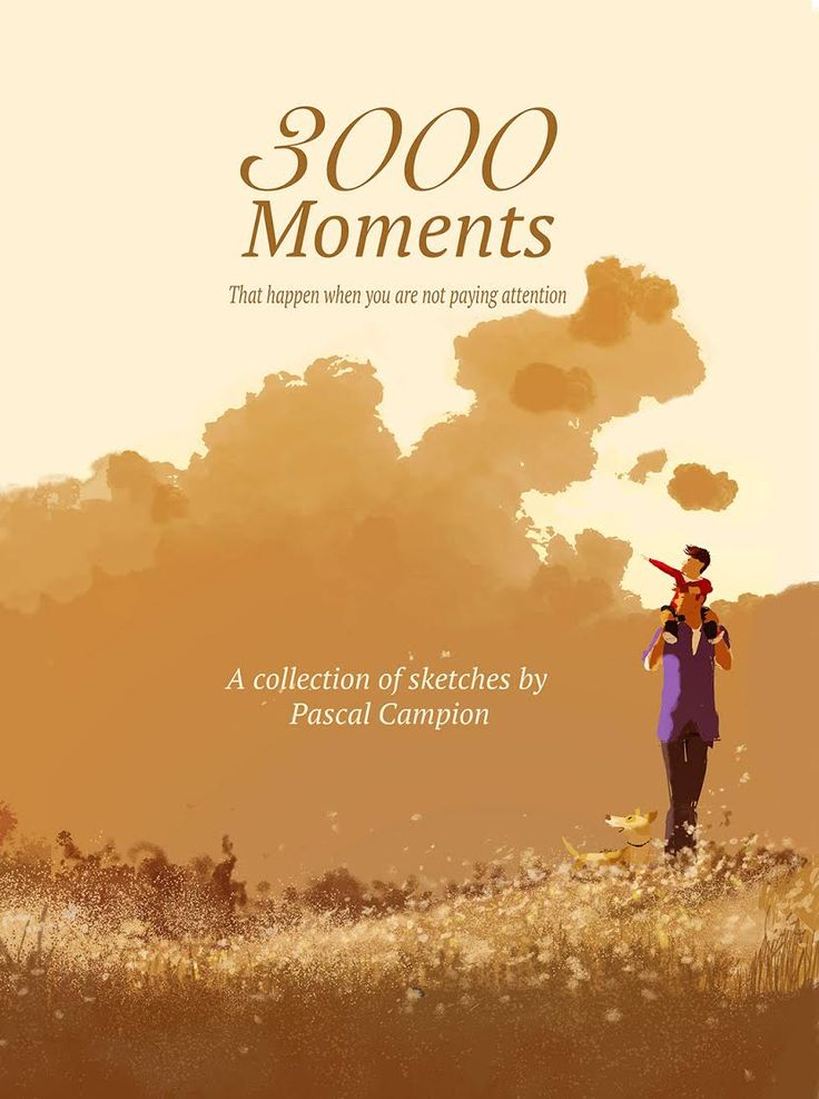 3000 Moments Coffee Table Book.  A collection of sketches by Pascal Campion.  For sale on his website.