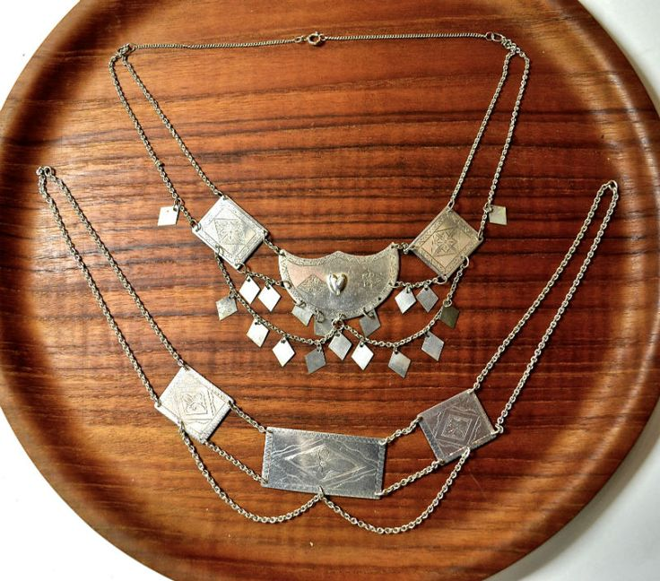 Jewellery to go with Western Finnish dresses.