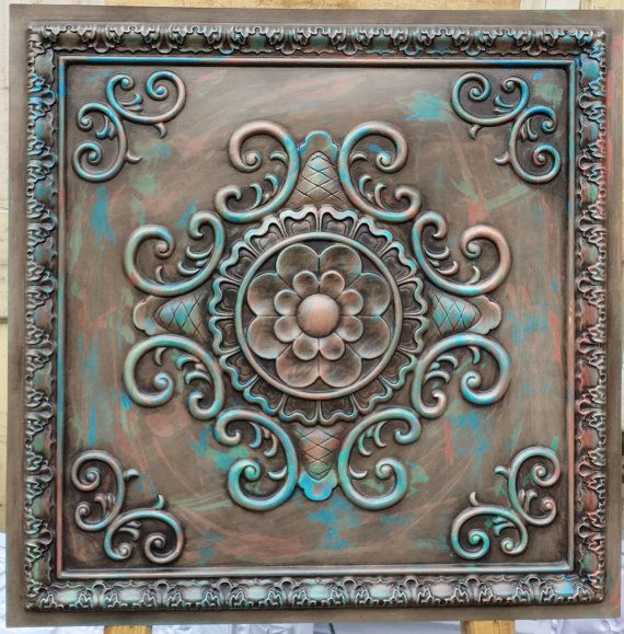 PL08 faux painted ceiling tiles antique multicoloured 3D embossed Photography Background panels boards 10tiles/lot free postage $119 etsy