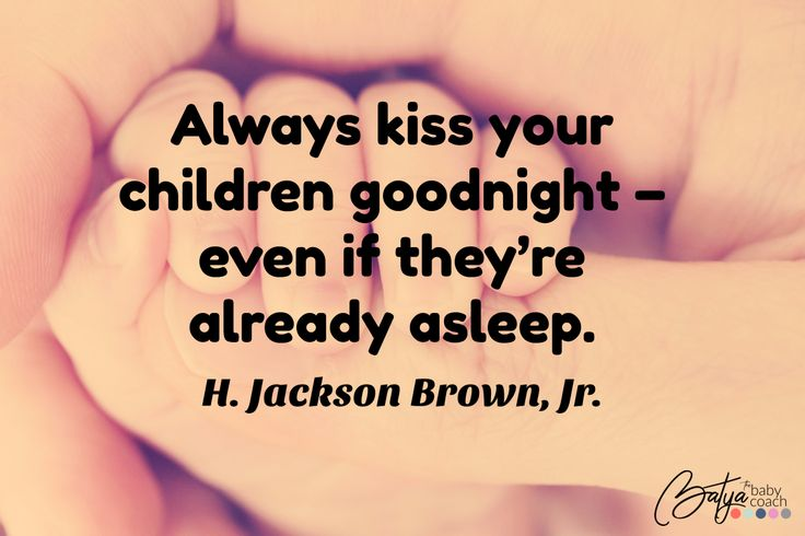 Never miss a moment to kiss your beautiful child goodnight. <3 #quote #children #quotes #love #parenting