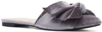 LC Lauren Conrad Peridot Women's Velvet Flat Mules #flats
