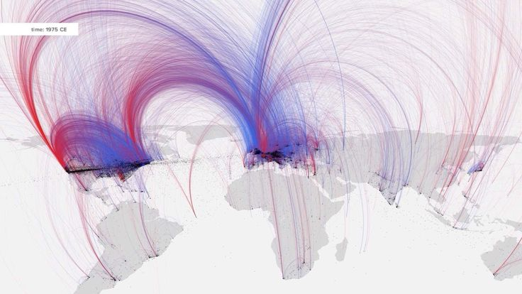 Watch: The power of #Datavisualization by charting #culture