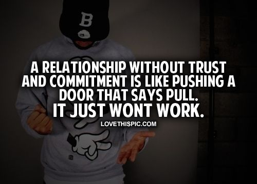 trust and commitment in a relationship