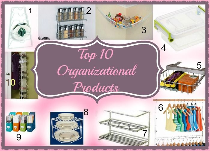 Top 10 Organizational Products from Parent Palace