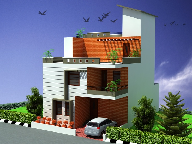 Simple Duplex 2 Floors Home Click On This Link Http Www Apnaghar Co In Pre Design House Plan Ag Page 63 Aspx To View Free Floor Plans Naksh