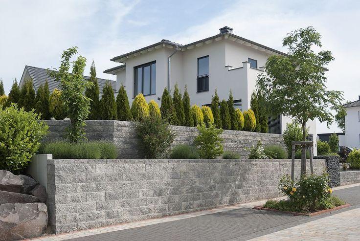 Vertica® Wall by Rinn Blocos de concreto e pedras naturais – Rinn Blocos de concreto e pedras naturais …   – Außenanlagen