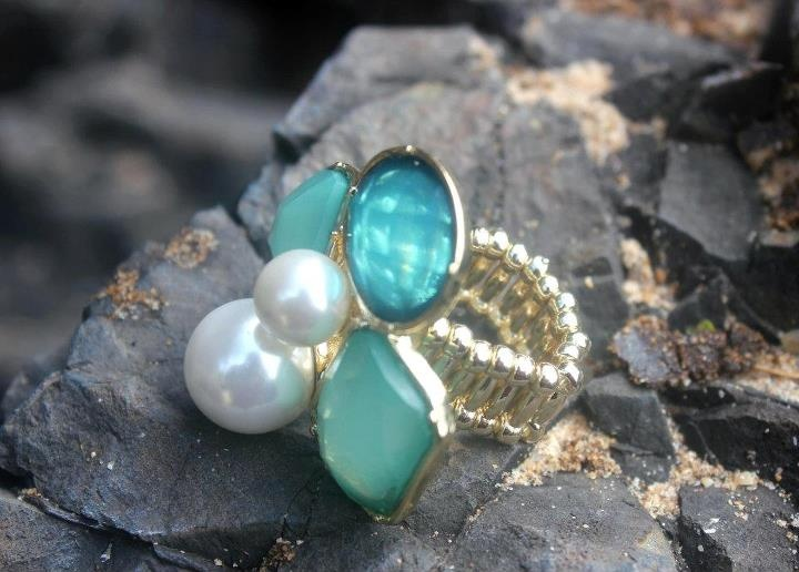 MINTY BOUNTY RING    INR 950    To purchase, mail us at 8teenstyleboulevard@gmail.com
