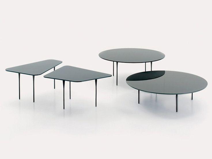 Crystal Coffee Table RAFFLES By Nube Italia Design Marco Corti, Sinhye Cho