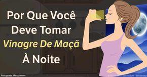 O vinagre de maçã é útil para uma série de condições relacionadas com a saúde, tais como equilibrar o seu pH, aumentar as boas bactérias intestinais e ajudar a controlar o peso. http://portuguese.mercola.com/sites/articles/archive/2017/02/01/tomando--vinagre-de-maca--a-noite.aspx