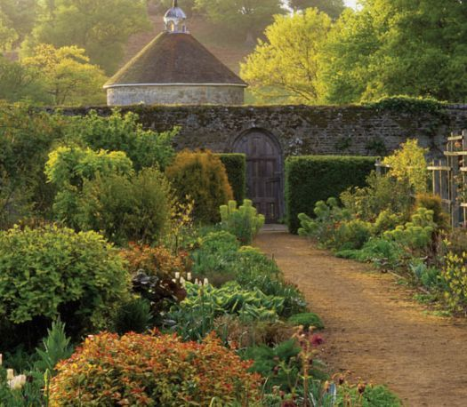 """gardens at Parham """"The Walled Garden originates from the 18th century, although it is likely that the ground had been cultivated for centuries before that. Vibrant with colour, it is run on organic principles, and is designed for a long season"""""""