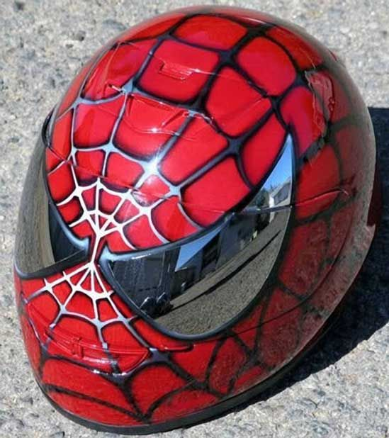 Custom Motorcycle Helmets | 55 Weird And Wonderful Custom Motorcycle Helmets from Bikes in the ...