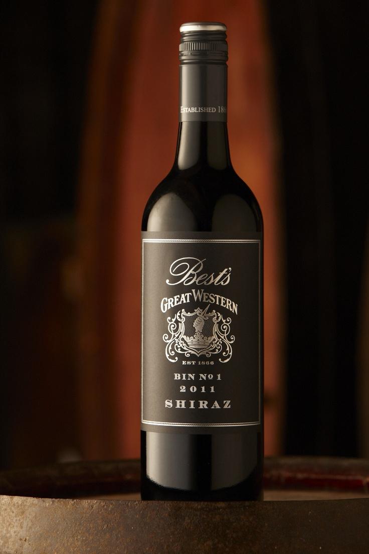 Bests Bin 1 Shiraz 2011 - Winner of the 2012 Jimmy Watson Memorial Trophy at Royal Melbourne wine show. $25.00 www.bestswines.com.au