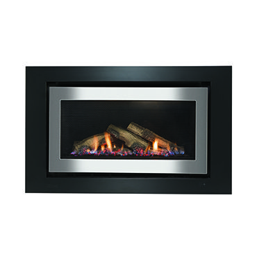 950 Range Gas Log Fireplace Rinnai Australia House