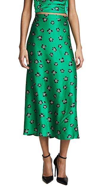 a279d922d Tropicana Midi Skirt in 2019 | SPRING 20 | Midi skirt, Skirts, High ...
