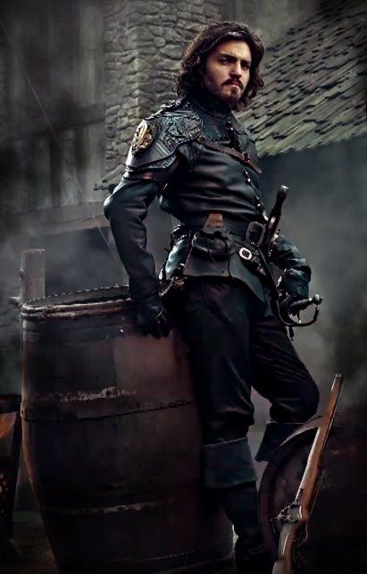 Athos ... or as I like to call him - Captain Gorgeous