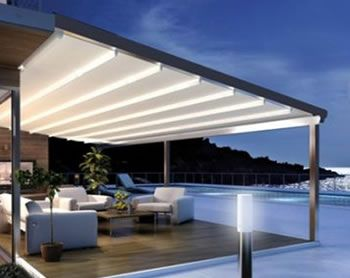 All Seasons Retractable Roof Awning From Ozsun Shade Systems