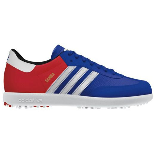 The British Open Samba shoe from Adidas golf - now sold out but keep an eye  out for the next PGA Championship edition!