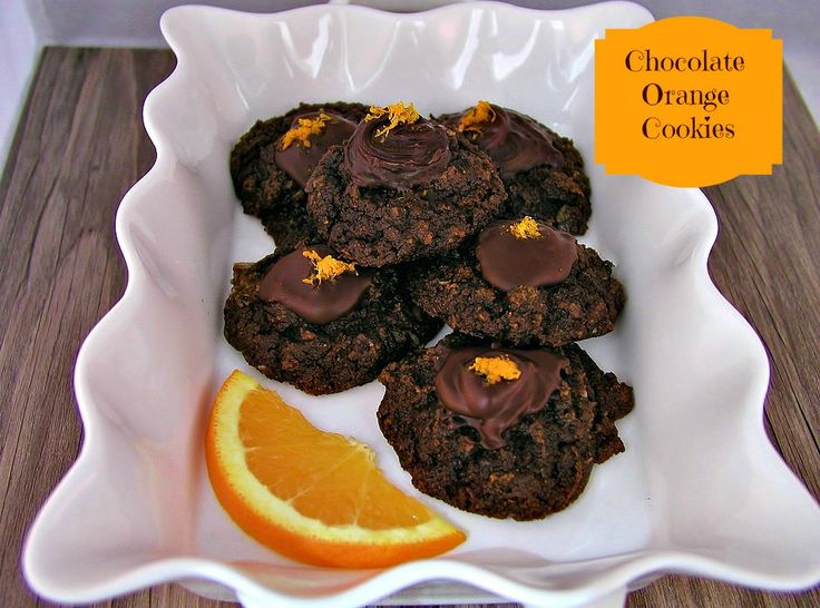 Chocolate Orange Paleo Cookies | www.beautyandthefoodie.com