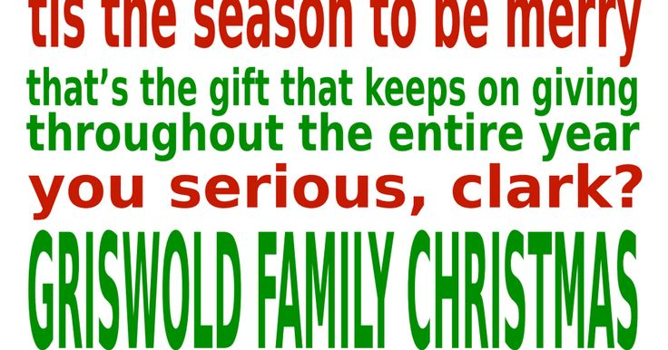 Griswold Family Christmas Subway Art .pdf