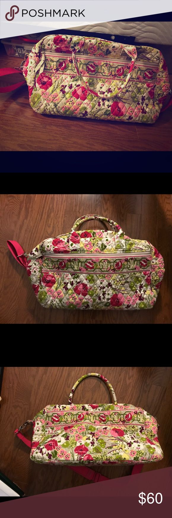 Vera Bradley Weekender Bag Vera Bradley Weekender Bag in Make Me Blush (retired pattern). Excellent used condition, only used it a few times. All offers considered. Vera Bradley Bags Travel Bags