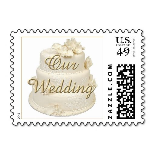 Wedding Cake Stamps This Is Customizable To Put A Personal Touch On