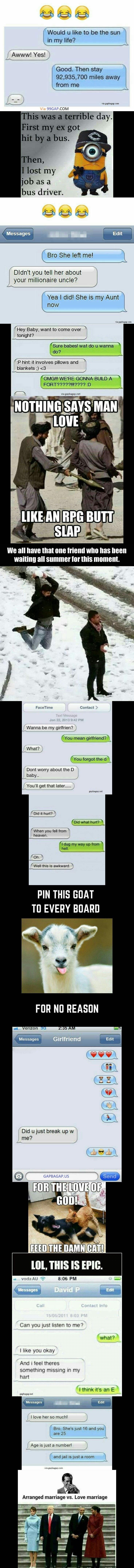#FunnyTexts And #FunnyMemes About Exes