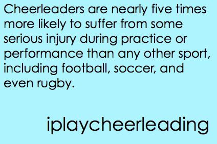 #cheer #cheerleading #fact