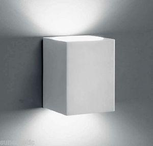1672.12 Applique Led biemissione 2x17,5W colore bianco a parete design moderno