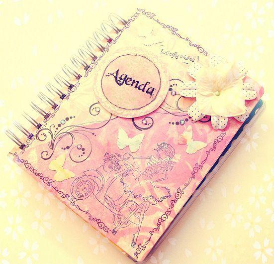 El tutorial que tod@s estabais esperando: Cómo hacer una agenda scrapbook paso a paso