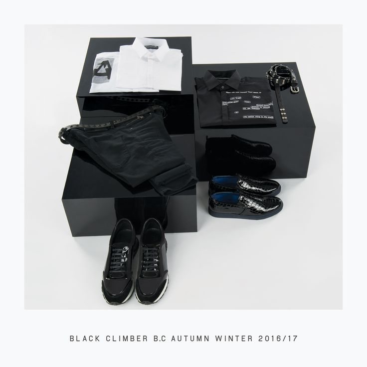A timeless accessory that never goes out of style. Discover the new #BlackClimberBC men's clothing collection