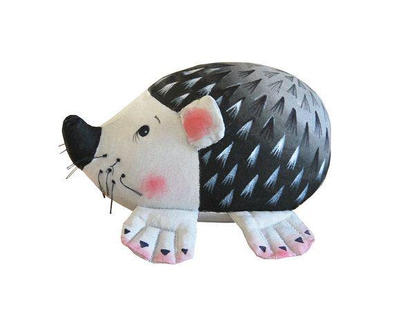 hedgehog, PINCUSHION in te stellen, pin kussen, voor het opslaan van pinnen
