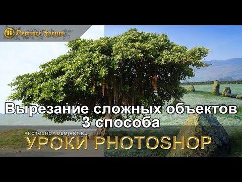 Вырезание сложных объектов — 3 способа. Урок Photoshop . Обсуждение на LiveInternet - Российский Сервис Онлайн-Дневников