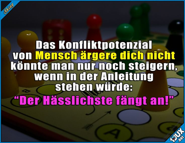 Konfliktpotenzial: Sehr hoch! x.x  Lustige Sprüche / Lustige Bilder #Humor #Sprüche #1jux #jux #lustig #Jodel #lustigeBilder #lustigeSprüche #ärgern #ragequit #Menschärgerdichnicht
