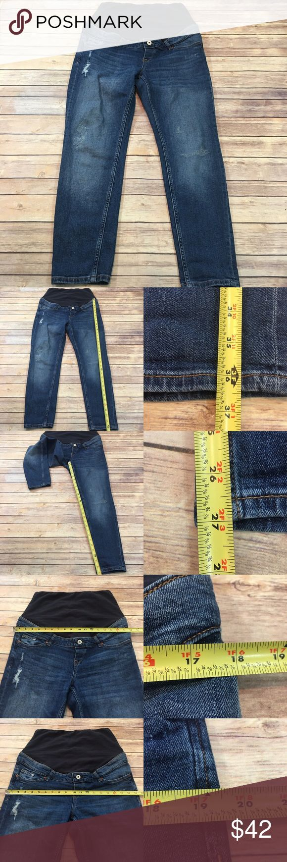 🎈Size 10 H&M Mama Boyfriend Fit Maternity Jeans Measurements are in photos. Normal wash wear, no flaws. C2/45  I do not comment to my buyers after purchases, due to their privacy. If you would like any reassurance after your purchase that I did receive your order, please feel free to comment on the listing and I will promptly respond.   I ship everyday and I always package safely. Thank you for shopping my closet! H&M Jeans Boyfriend