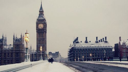 Wintertime in London