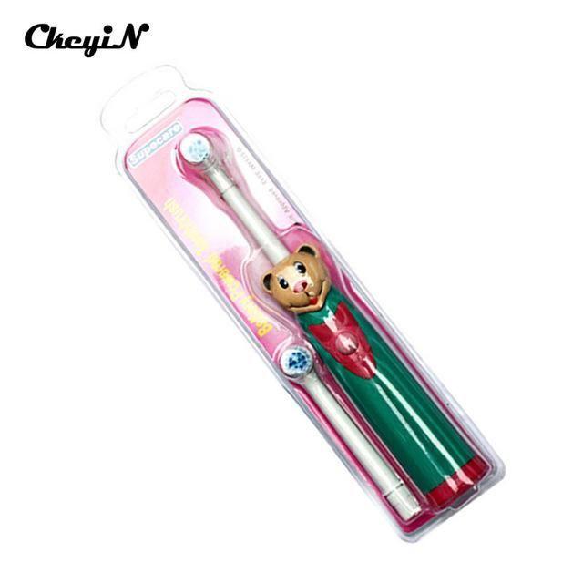 Battery Cartoon Pattern sonic waves Electric Toothbrush Waterproof Teeth Brush Tooth Brush oral hygiene Children Kids Teeth Care