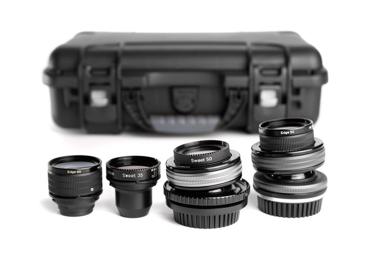LENSBABY MOVIE MAKER'S KIT II  OBJEKTIV-KIT FÜR PROFESSIONELLE FILMEMACHER IN ROBUSTEM NANUK-HARDCASE  http://www.lensbaby-shop.de/