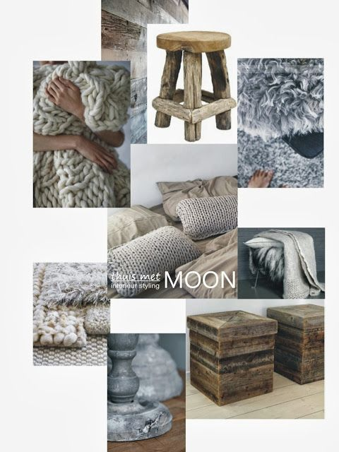 blog thuis met Moon- stoere slaapkamer - moadbord
