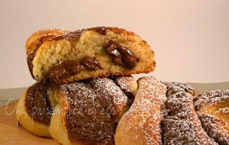 Pain Au Chocolat Cinnamon Rolls With Crème Fraîche Icing And Walnuts ...