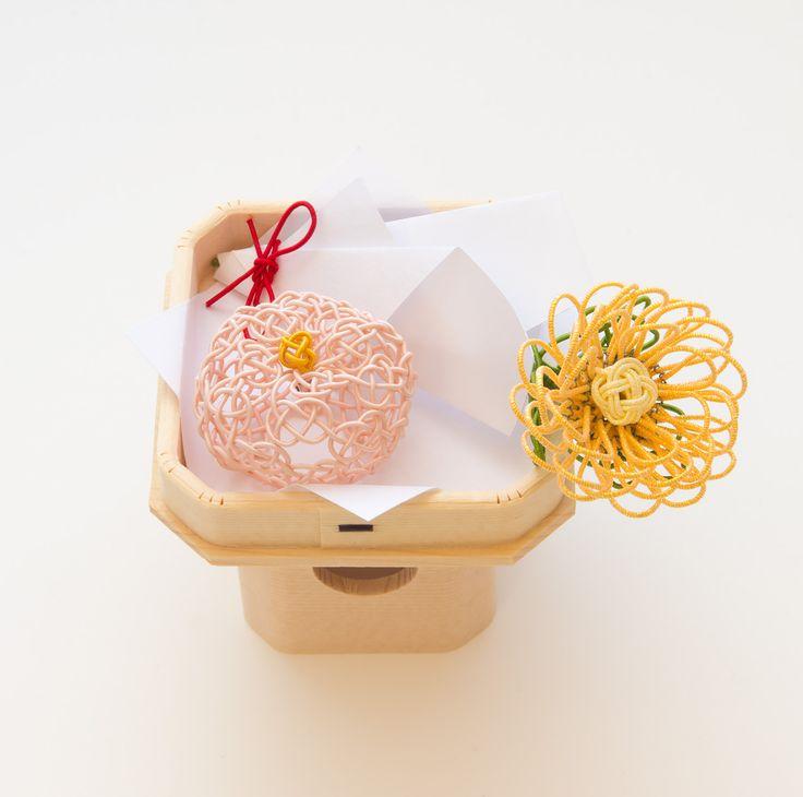 お供え飾り 長月/重陽の節句・菊の花と菊の和菓子│和工房 包結 オンラインショップ