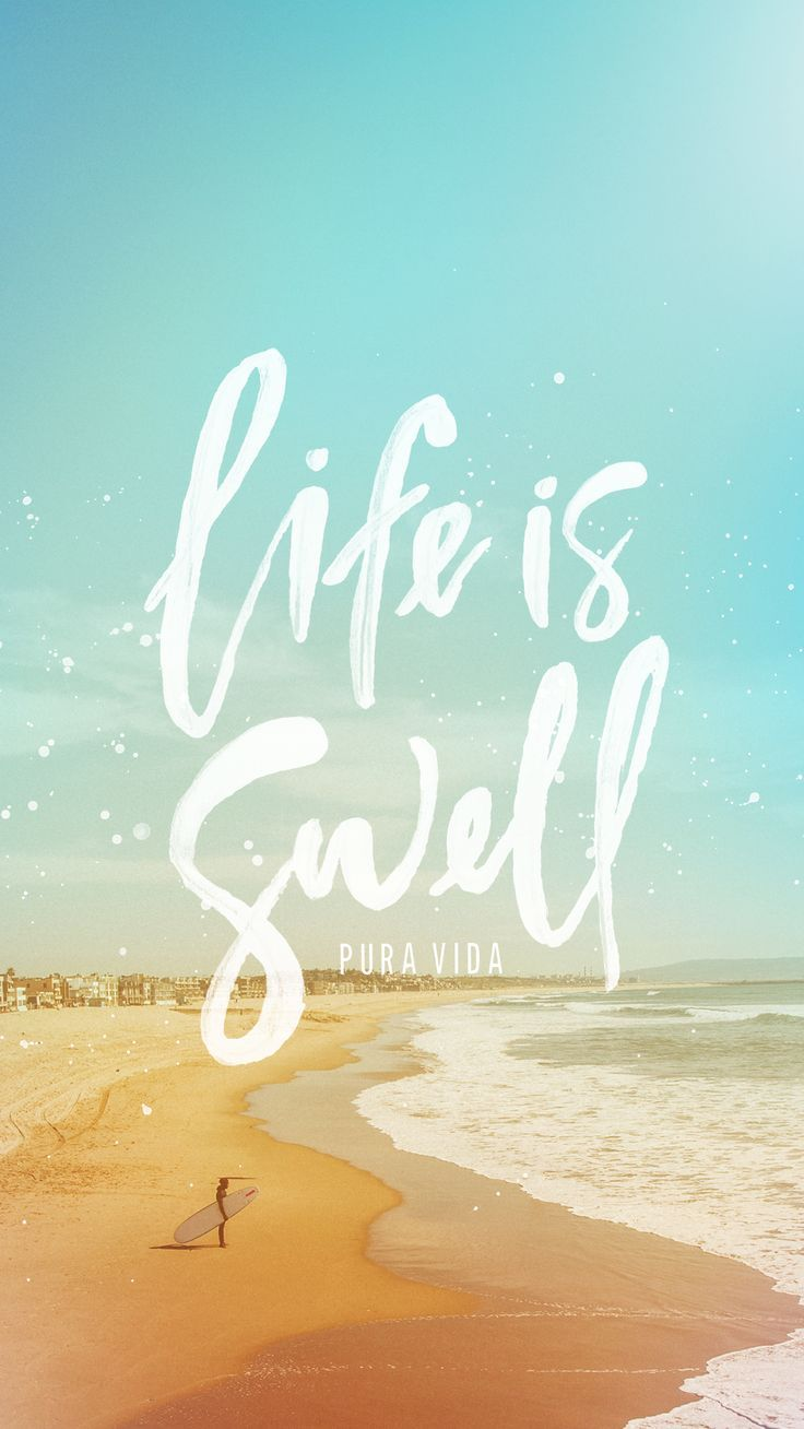 It Is Swell With My Soul Beach Surf Islandlife Paradise Happyplace Iphone Wallpaper Tumblr Aesthetic Backgrounds Phone Wallpapers Aesthetic Wallpapers