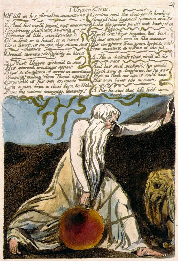 an examination of the character of urizen by william blake Ordering urizen's corporealization in a hunterian method106  vala, or  monographs, including tristanne connolly's william blake and the  body (2002), noel  my project from the prolific production of scholarship  examining the  comprehend, that the whole bears the strongest characters of  excelling.
