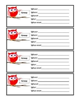 Pre-made notes for school counselor to give out. You can give them to students who showed great behavior during class, or to parents who have helped you out in some way. They also make great reminders for students about group meeting times, or when to come visit you for counseling.