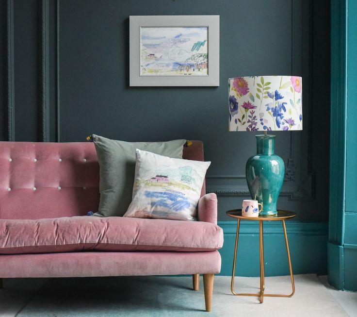 55 besten Tapeten Trends und Wandfarben Bilder auf Pinterest - wohnzimmer petrol grau