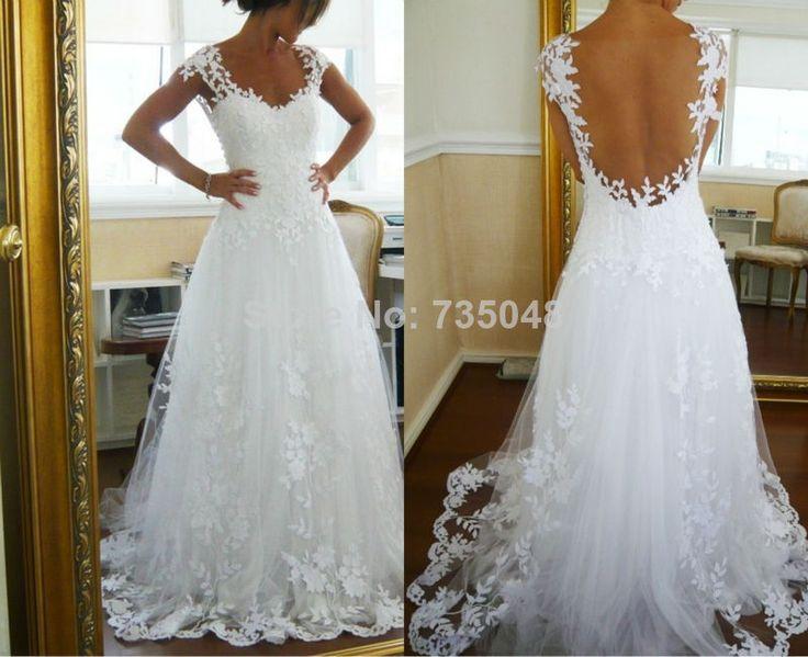 46 best Wedding dresses images on Pinterest | Short wedding gowns ...