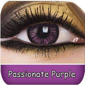 For Raven, Alice(PH), Alanna, even Ursula  Passionate Purple Big Eyes Contact Lenses