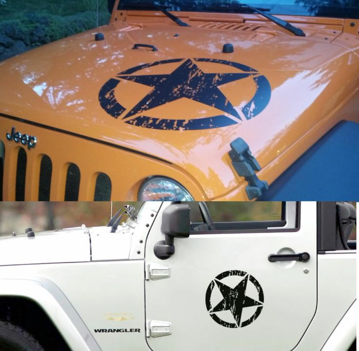 Best Car Stickers Images On Pinterest Car Stickers Decals - Custom windo decals for jeepsjeep hood decals and stickers custom and replica jeep decals now