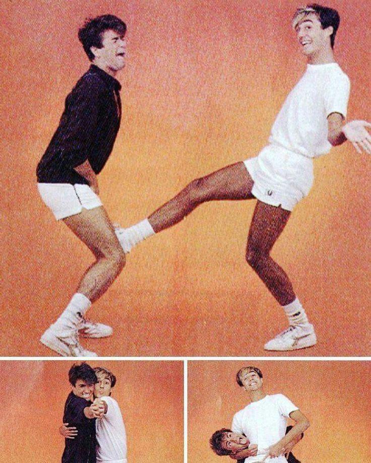 George Michael and Andrew Ridgeley Wham!