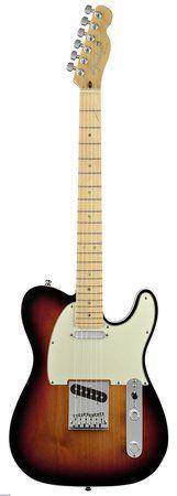 Fender American Deluxe Telecaster Sunburst Profile Photo