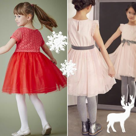 robe fille robe de f te enfant pour no l petite. Black Bedroom Furniture Sets. Home Design Ideas